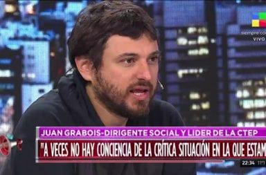 """Juan Grabois """"No funciona la distribución de alimentos para los más pobres"""""""