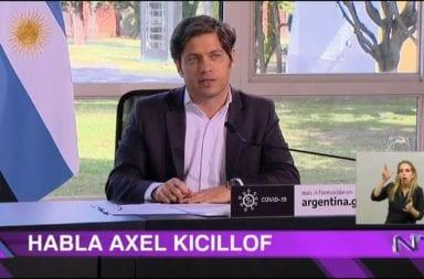 """Kicillof: """"Sabemos que el esfuerzo que pedimos es agotador"""""""