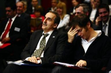 """Guillermo Moreno criticó a Kicillof: """"En 2001 tenía un café y tuvo que cerrarlo porque lo quebró"""""""