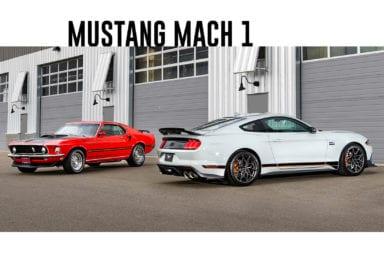 Se dio a conocer el diseño final del Ford Mustang Mach 1