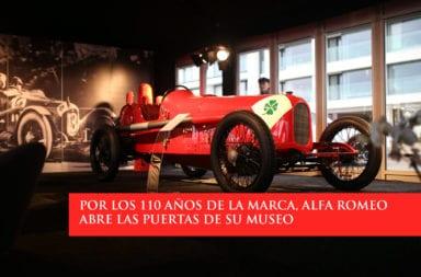 Por los 110 años de la marca, Alfa Romeo abre las puertas de su museo