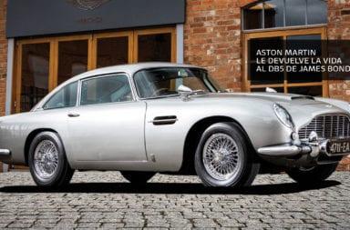 Aston Martin le devuelve la vida al DB5 de James Bond
