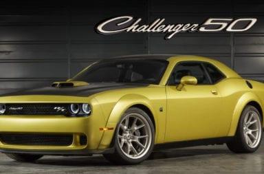 Dodge conmemora los 50 años del Challenger con una edición bien personalizada