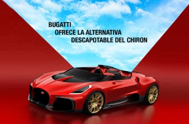 Bugatti ofrece la alternativa descapotable del Chiron