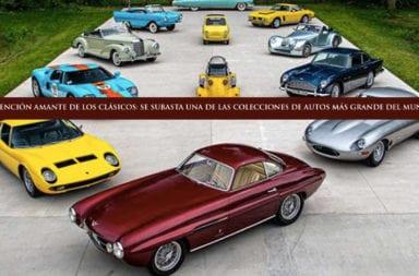 Atención amante de los clásicos: Se subasta una de las colecciones de autos más grande del mundo