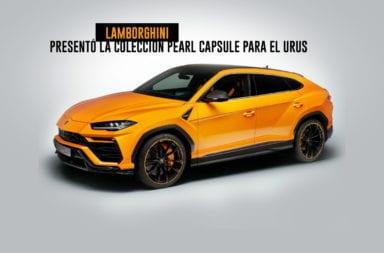 Lamborghini presentó la Colección Pearl Capsule para el Urus