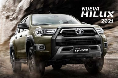 Toyota presentó la nueva Hilux