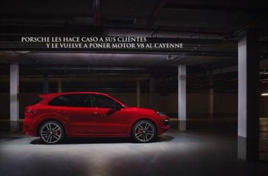 Porsche les hace caso a sus clientes y le vuelve a poner motor V8 al Cayenne
