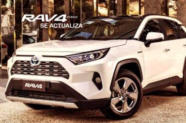 Se actualiza en Argentina la Toyota Rav4