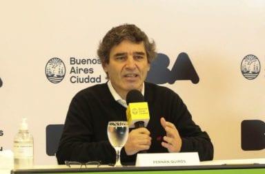"""Fernán Quirós: """"No hay ningún elemento técnico para asociar la actividad física con el número de casos"""""""