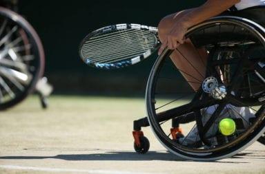 tenis en silla de ruedas