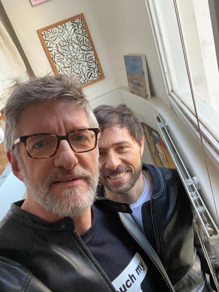 Polémica por la filtración de un video privado de Luis Novaresio y su pareja Braulio