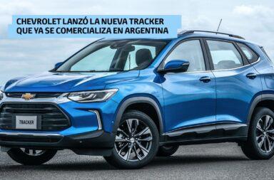 Chevrolet lanzó la nueva Tracker que ya se comercializa en Argentina