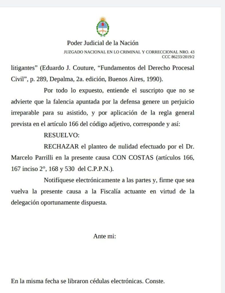 Andrea del Boca: nuevo revés judicial para su ex