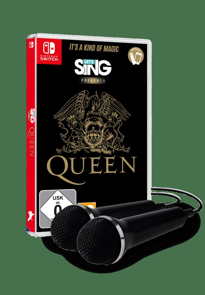 Queen llega a Nintendo Switch de la mano de Let's Sing