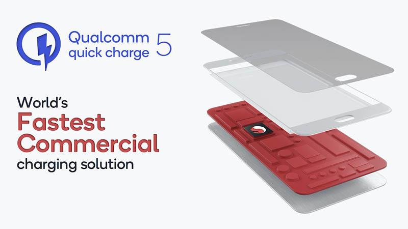 Quick Charge 5, la nueva tecnología de carga de Qualcomm