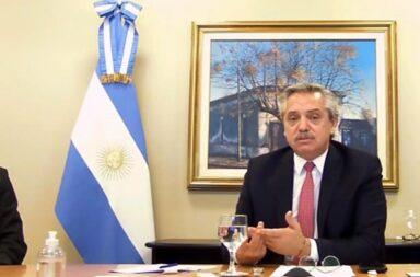 Alberto Fernández envió un mensaje a los bonistas: