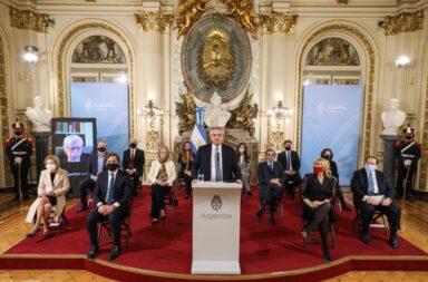 """Alberto Fernández presentó el proyecto de reforma Judicial: """"Para tener un mejor Estado de derecho, proponemos una Justicia independiente"""""""