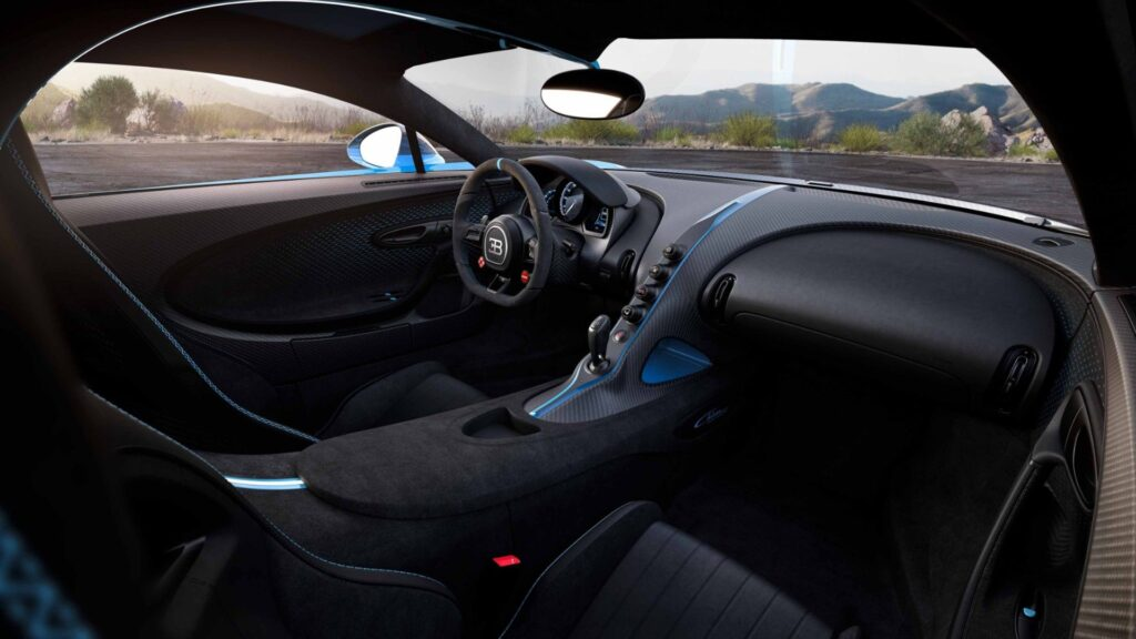 El aire acondicionado del Bugatti Chiron que puede enfriar hasta un departamento