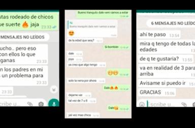 Los terroríficos mensajes del docente de Rosario que abusó de menores: