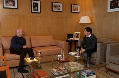 """Larreta y Kicillof acordaron una cuarentena """"diferenciada"""" para el Área Metropolitana"""
