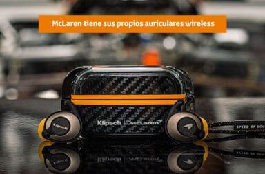 McLaren tiene sus propios auriculares wireless