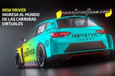 New Driver ingresa al mundo de las carreras virtuales