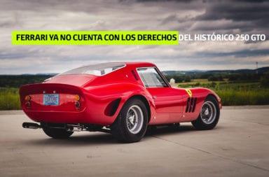 Ferrari ya no cuenta con los derechos del histórico 250 GTO