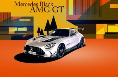Lo más radical de Mercedes llega con la versión Black Series del AMG GT