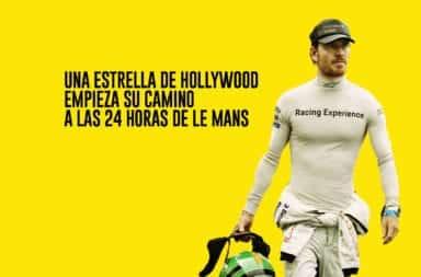 Una estrella de Hollywood empieza su camino a las 24 horas de Le Mans