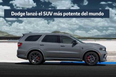 Dodge lanzó el SUV más potente del mundo