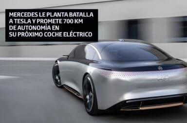 Mercedes le planta batalla a Tesla y promete 700 km de autonomía en su próximo coche eléctrico