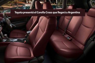 Toyota presentó el Corolla Cross que llegará a Argentina