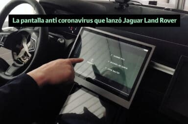 La pantalla anti coronavirus que lanzó Jaguar Land Rover
