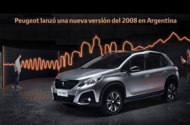 Peugeot lanzó una nueva versión del 2008 en Argentina