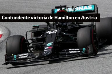 Contundente victoria de Hamilton en Austria