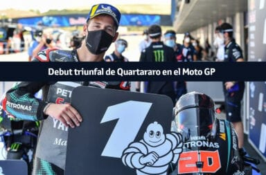 Debut triunfal de Quartararo en el Moto GP