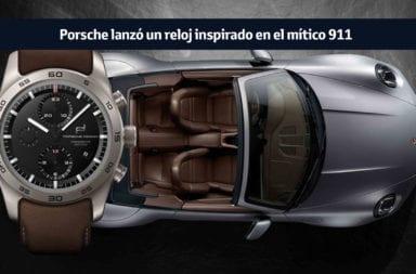 Porsche lanzó un reloj inspirado en el mítico 911