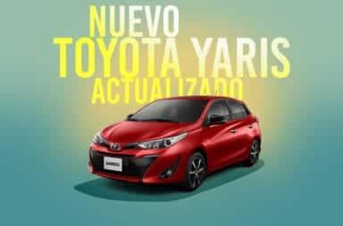 Toyota lanzó a la venta la actualización del Yaris