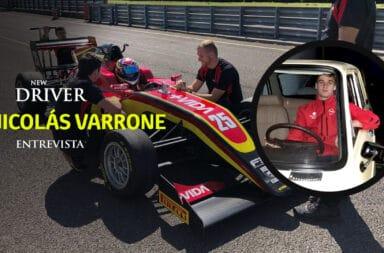 Nicolás Varrone: El piloto que sueña con la F1 y tiene en su poder el primer 0 km de Maradona