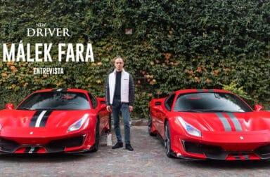 Málek Fara: El empresario que vive su vida rodeado de autos superdeportivos