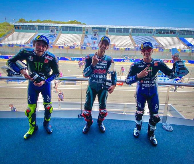 Contundente victoria de Quartararo en el Gran Premio de Andalucía