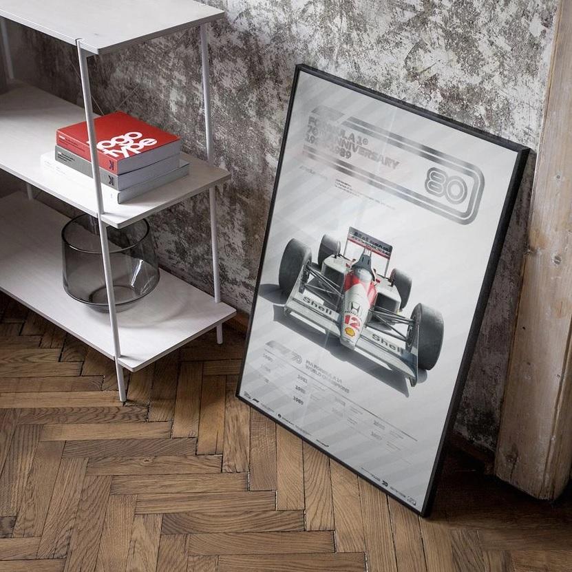 La F1 lanzó una increíble colección de poster para conmemorar sus 70 años