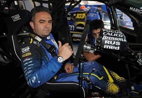Fuerte accidente vial y múltiples fracturas para Esteban Tuero