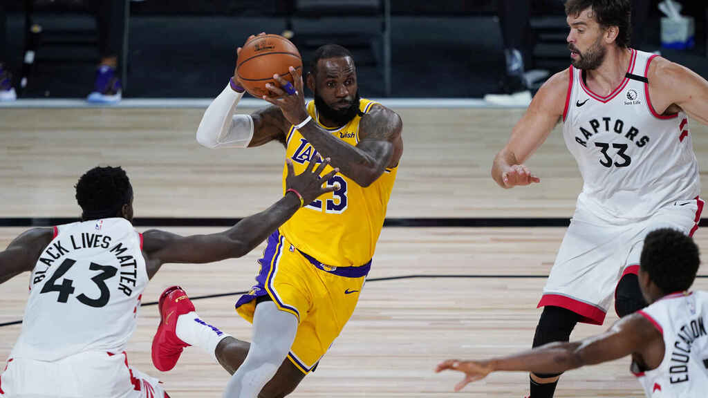 La nueva NBA de la pandemia.