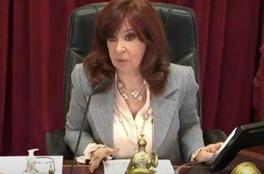 "La chicana de Cristina Fernández de Kirchner a un senador del PRO: ""¿Donde está Bullrich que no lo vi la última vez?"