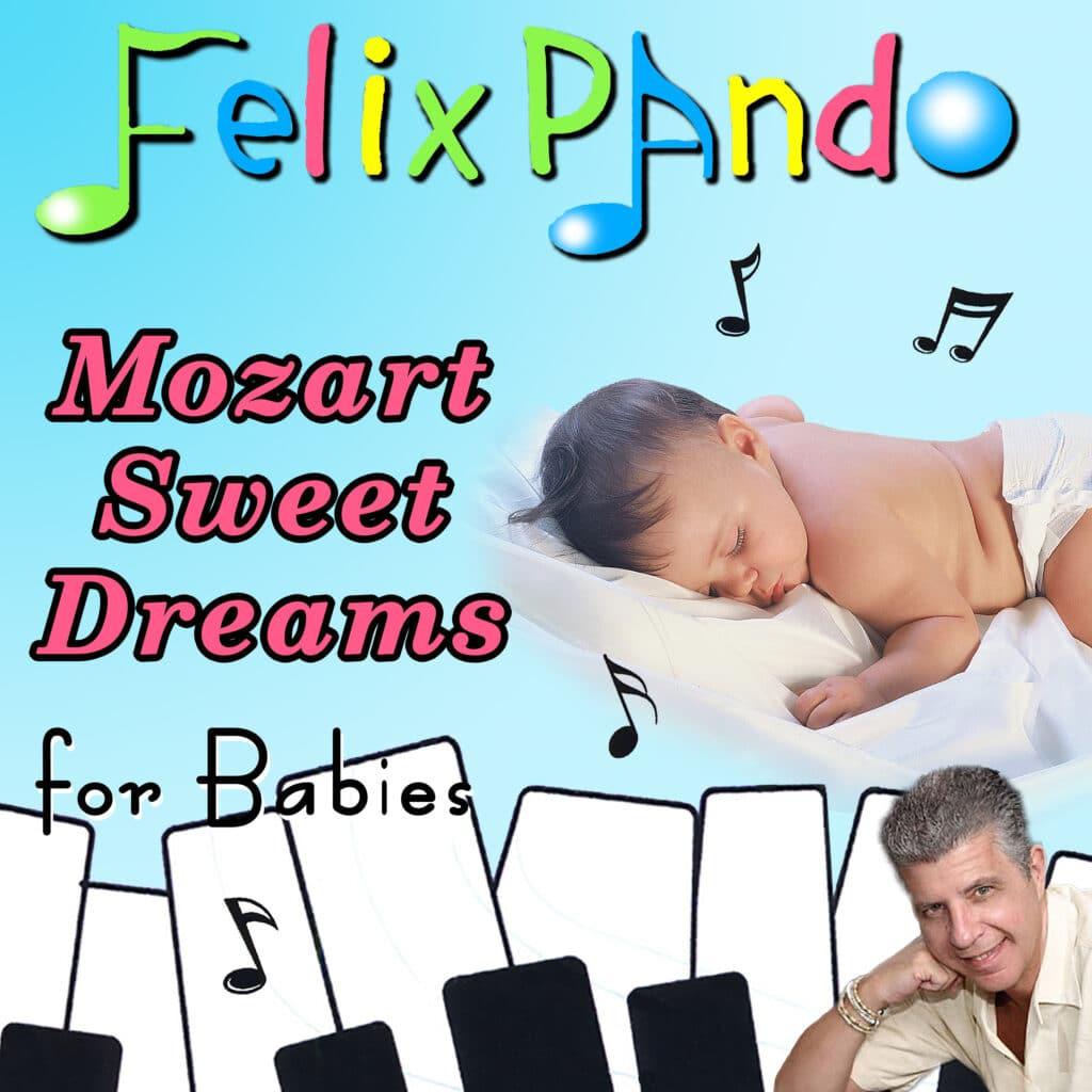 """Felix Pando estrena música para bebés: """"Mozart Sweet Dreams for Babies"""""""