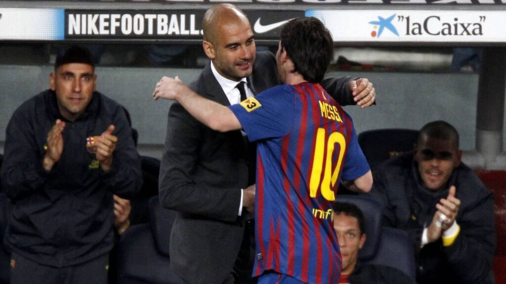 Messi le dice adios al Barcelona