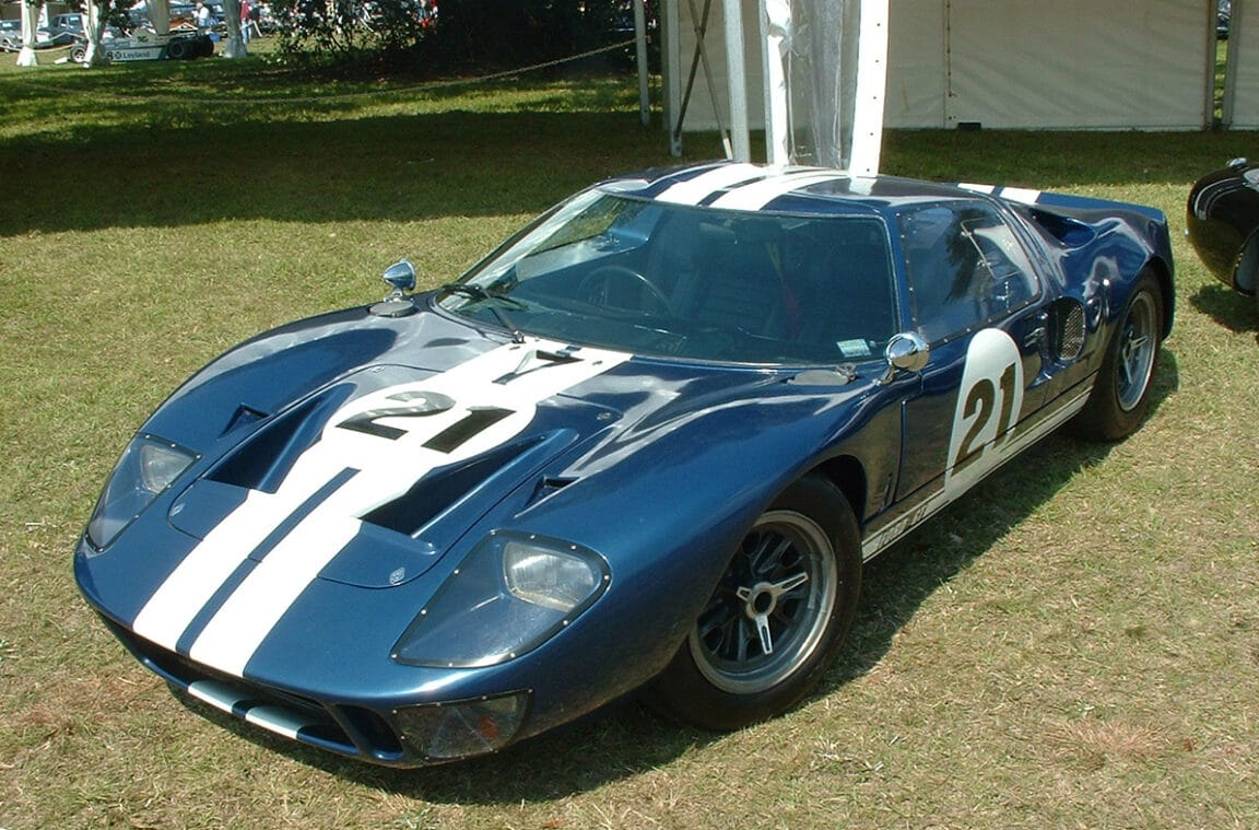 La historia del GT40 que corrió en Le Mans y que llegó a Argentina para Pérez Companc