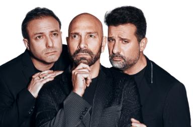 """José María Listorti, Fredy Villarreal y Sebastián Almada hacen """"Delivey de Humor"""""""